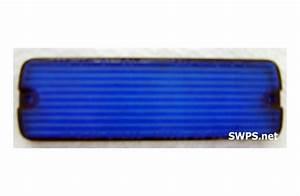 Whelen Blue 52 Series Linear Strobe Lens 68