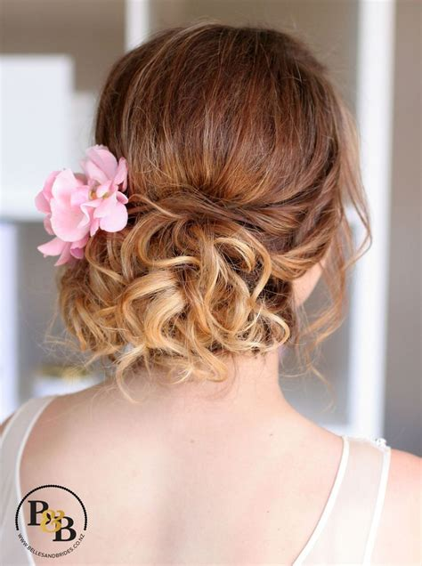 wedding hair styles for wedding updo with fresh flowers wedding hair 7341