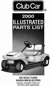 2000 Club Car - Ds  Gas  U0026 Electric  - Parts List
