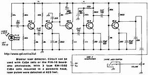 Laser Related Power Supplies And Data Transmission Circuit