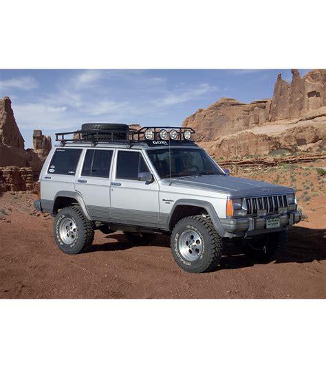 toyota 4runner 2017 black jeep cherokee xjranger w tire rack multi light setup no