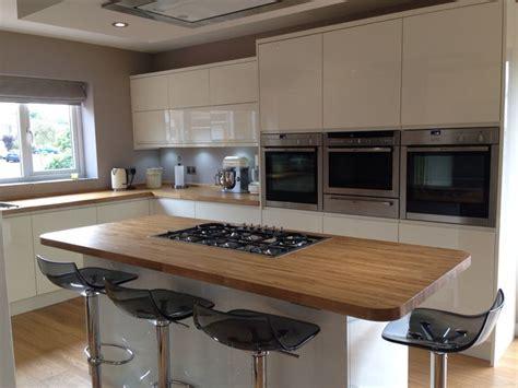 kitchendining room lucente cream gloss units
