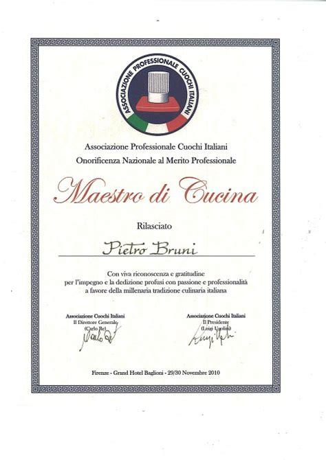 diploma di cucina un cuoco a bologna