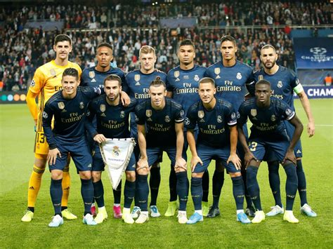 All information about real madrid (laliga) current squad with market values transfers rumours player stats fixtures news. Uefa Champions League: PSG, Real Madrid and the very real importance of club colours   The ...
