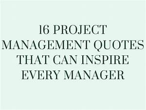 16 PROJECT MANA... Software Employee Quotes