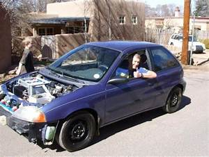 1995 Geo Metro Engine Swap