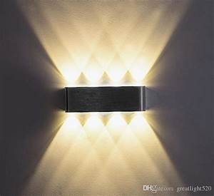 Up And Down Lights : 2018 modern 6w 8w aluminum led up down wall light with scattering light design fixtures lamps ~ Whattoseeinmadrid.com Haus und Dekorationen