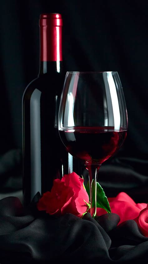 samsung galaxy  red rose  wine wallpaper gallery