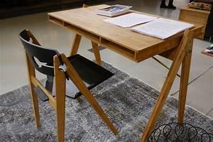 Schreibtisch Und Stuhl : we do wood schreibtisch und stuhl aus bambus holzdesignpur blog ~ Markanthonyermac.com Haus und Dekorationen