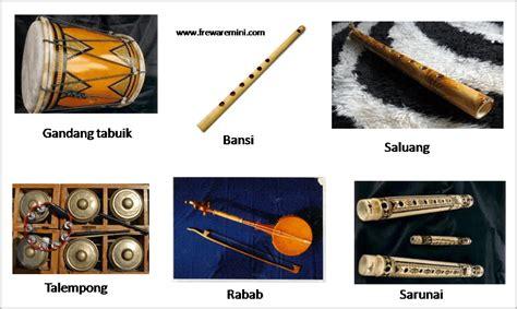 Ansambel berasal dari bahasa perancis yang memiliki arti rombongan musik (kelompok musik). 9 Jenis Alat Musik Tradisional Sumatera Barat   Gambar dan Penjelasan.