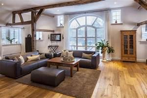 Wohnzimmer Im Landhausstil Modern Einrichten Kreutz
