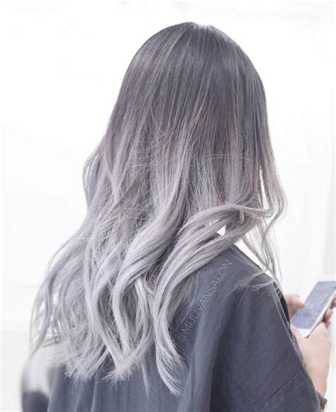 Silver Hair By Los Angeles Hair Stylist Hair Colors Ideas