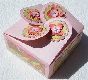 Boite Cartonnage Tuto Gratuit : boite sympa pour la fete des meres l 39 atelier de jojo ~ Louise-bijoux.com Idées de Décoration