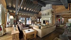 Stone Tiles Wall Decor Ideas Mountain Home Interiors