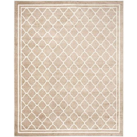 12 x 12 outdoor rug safavieh amherst wheat beige 9 ft x 12 ft indoor outdoor