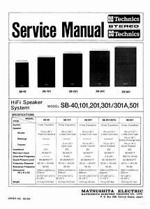 Technics Sb-301