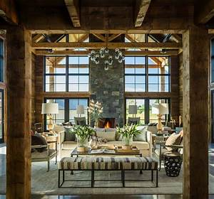 Traditional, Farmhouse, Style, Dwelling, In, Vermont, With, A, Modern, Twist