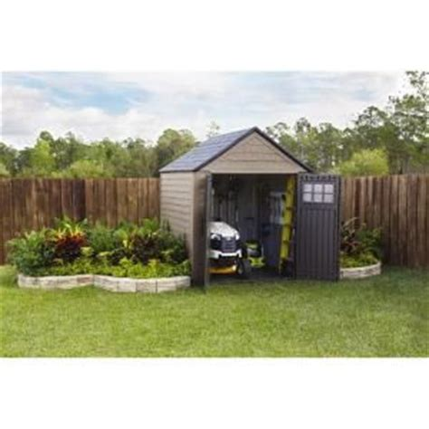 rubbermaid shed 7x7 home depot rubbermaid sheds storage 7 ft x 7 ft big max storage