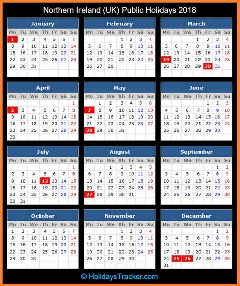 northern ireland uk public holidays uk holidays