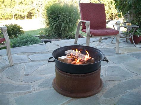 fire pit   truck rims easy craft ideas