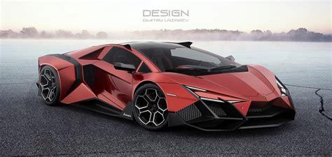Lamborghini Car : The Lamborghini Forsennato Would Be A Proper Raging Bull