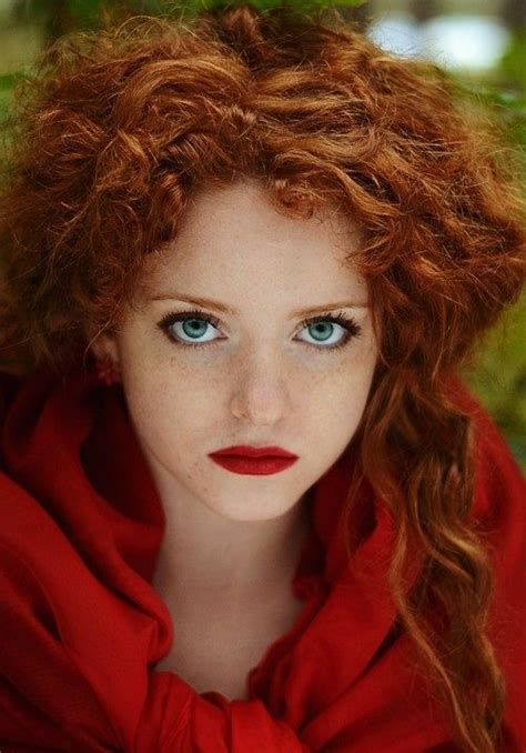 images  green eyes red hair  pinterest