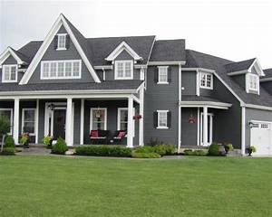 Dark Grey House With White Shutters 2015 Best Auto Reviews