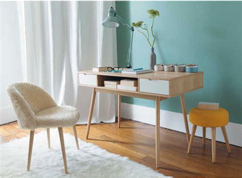 le bureau retro retro office fjord vintage desk at maisons du monde