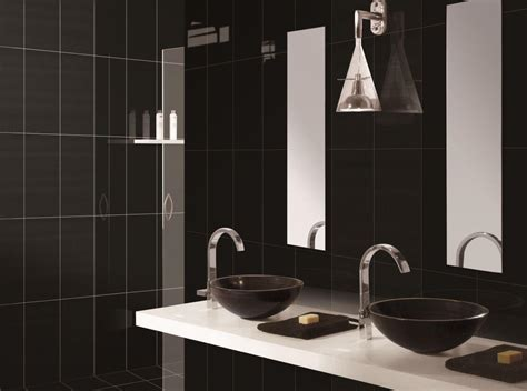 black bathrooms ideas 10 bold black bathroom interior design ideas https