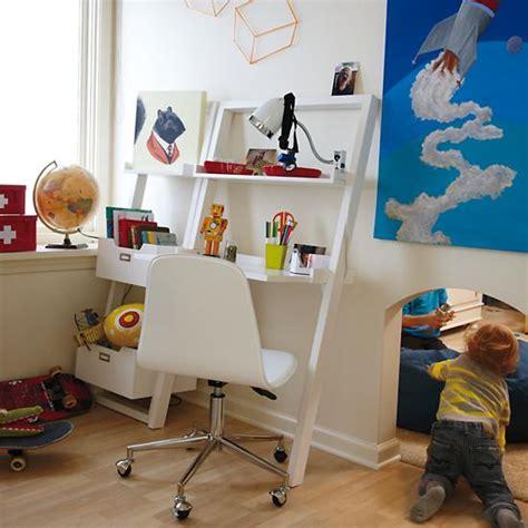 little sloane leaning desk kids 39 desk kids white leaning wall desk the land of nod