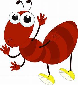 Ant clipart cute - Pencil and in color ant clipart cute