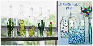 5 Diy Stained Glass Vases And Jars - diy Thought