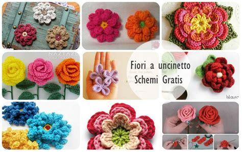 fiori all uncinetto schemi gratis italiano fiori a uncinetto