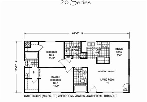 20 X 40 Home Design : Wonderful 20 X 40 Floor Plans House