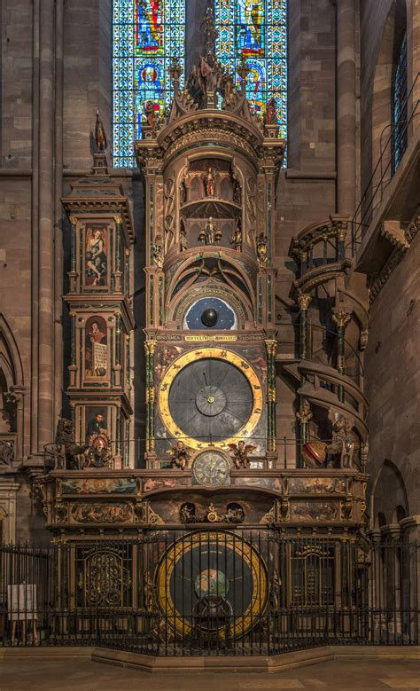 strasbourg astronomical clock wikiwand