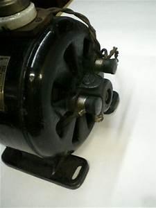 Antique  Vintage Electric Motor 110  120 Volts Ac