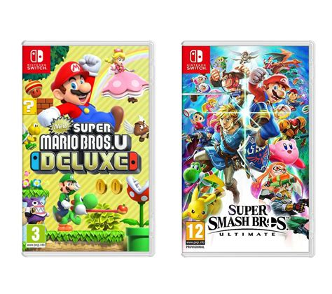 Buy Nintendo Switch Super Smash Bros Ultimate And New Super