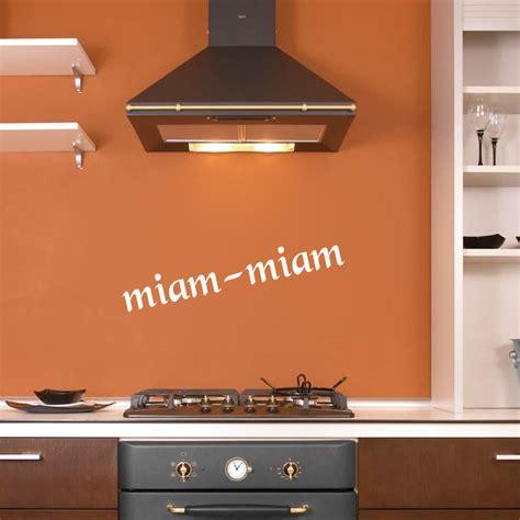 destock cuisine stickers déco cuisine miam miam deco cuisine destock