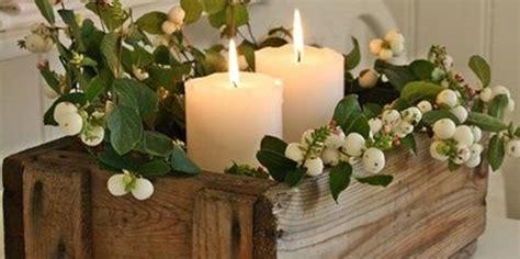 centrotavola natalizio con candele idee decor centrotavola natalizio con le candele