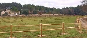 Piquet De Cloture Bois Acacia : cl tures pour chevaux en acacia robinier post and rail ~ Dailycaller-alerts.com Idées de Décoration