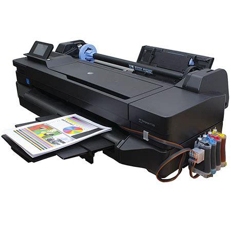 plotter hp t120 sistema continuo tinta alemana ocp