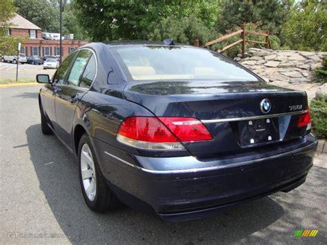 2008 Toledo Blue Metallic Bmw 7 Series 750i Sedan