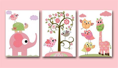 Children's Art Kids Decor Baby Girl Room Decor Baby Girl