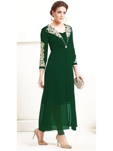 sasya bottle green designer kurti arihant 8026 cilory com