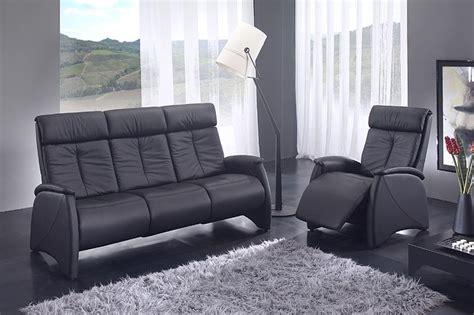 meuble mailleux cuisine canapé relax noir 3 places des meubles mailleux photo 11