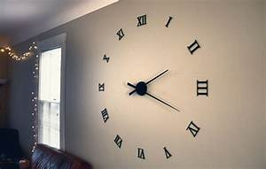 This Large Wall Clock Is Over 48 In Diameter And Is Made