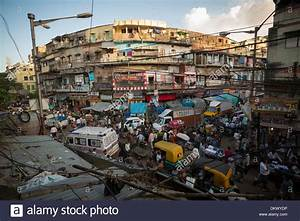 Chaotic streets of Calcutta (Kolkata), India Stock Photo ...