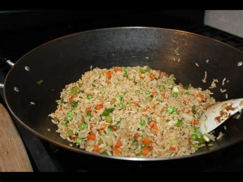 vegetable fried rice youtube
