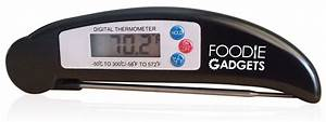 Black Best Digital Thermometer  Includes Free Internal