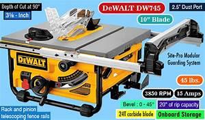 Dewalt Dw745 Review